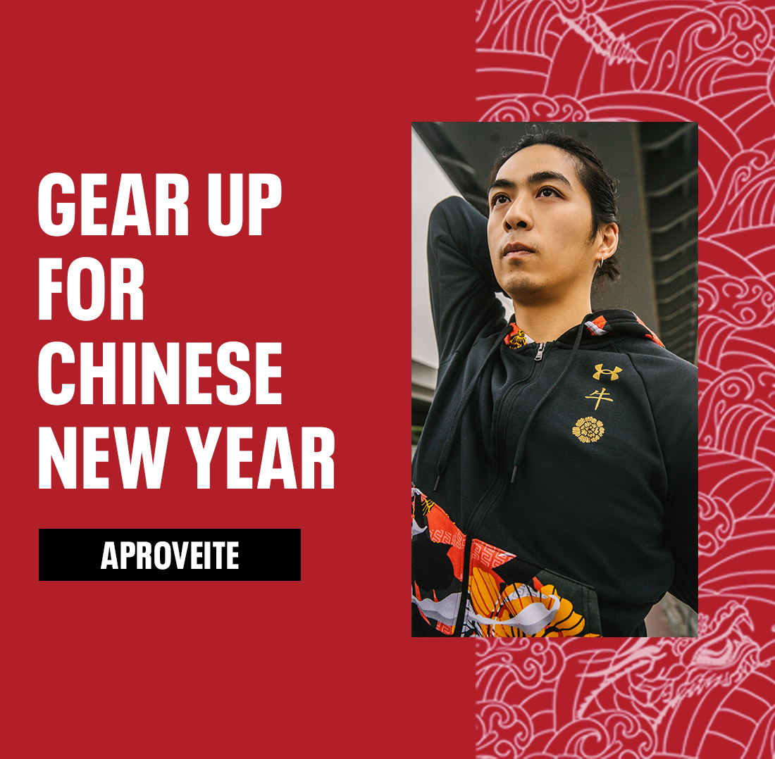 GEAR UP FOR CHINESE NEW YEAR